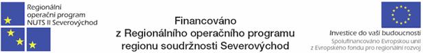 Financováno z Regionálního operačního programu regionu soudržnosti Severovýchod